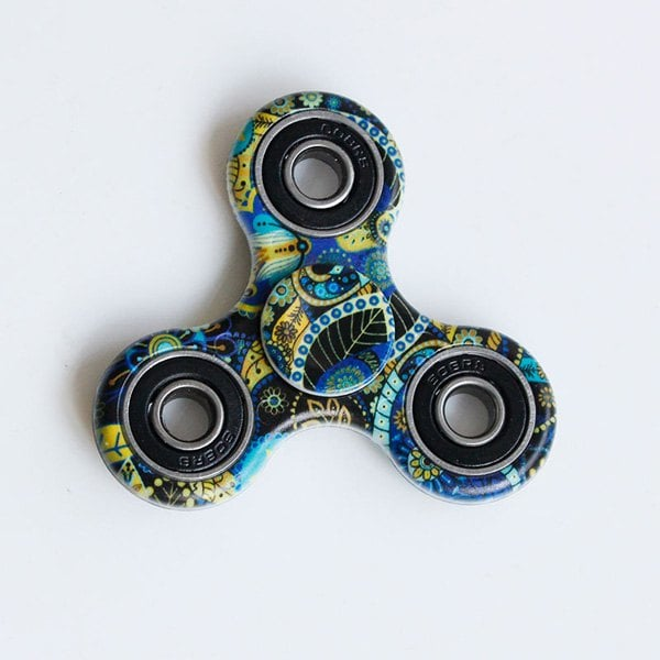 tie dye fidget spinner photo - 1