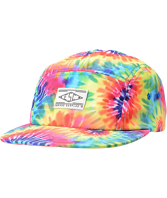 tie dye hat photo - 1