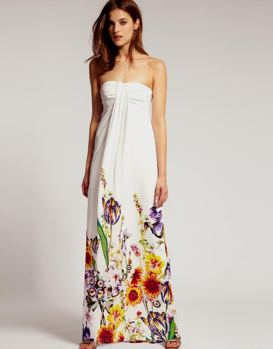 tie dye maxi dress photo - 1