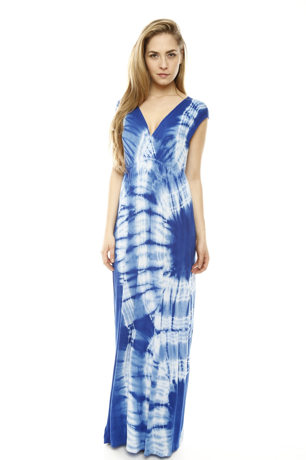 tie dye maxi dresses photo - 1