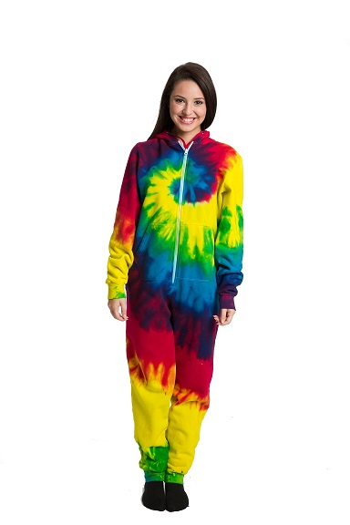tie dye onesie for adults photo - 1