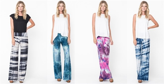 tie dye pants photo - 1