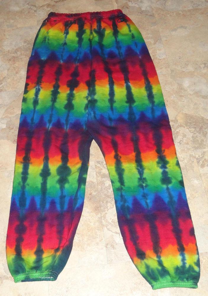 tie dye pants mens photo - 1
