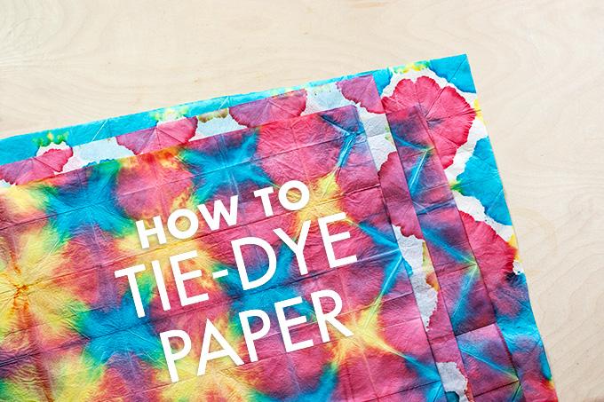 tie dye paper photo - 1