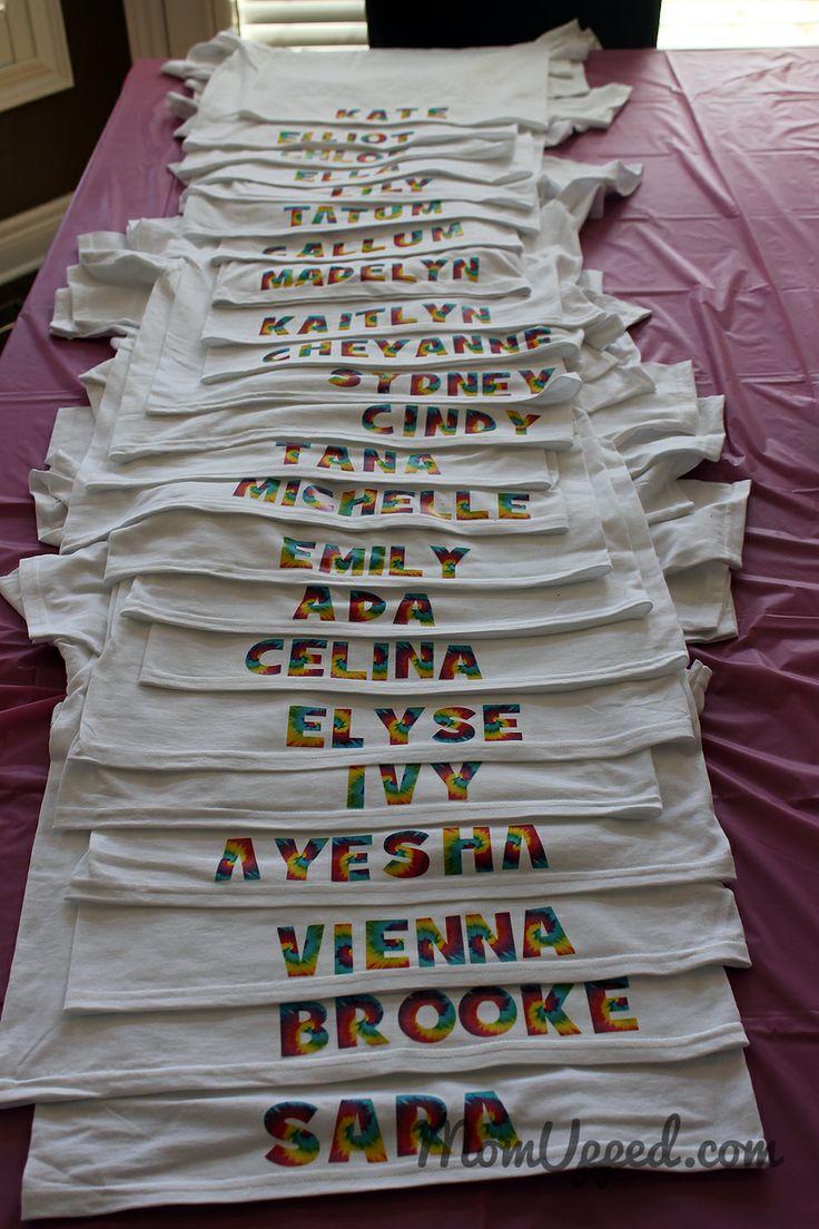 tie dye party photo - 1