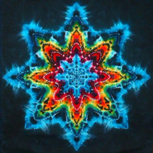 tie dye patterns star photo - 1