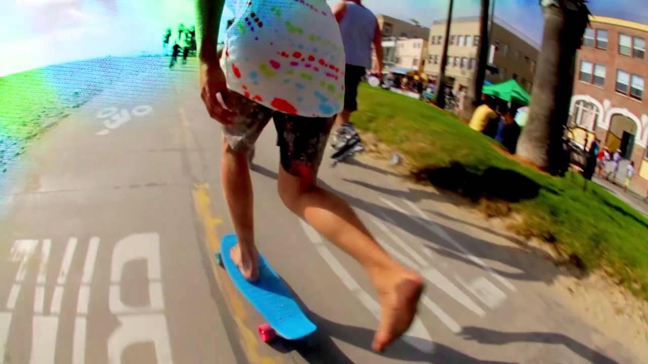 tie dye penny board photo - 1