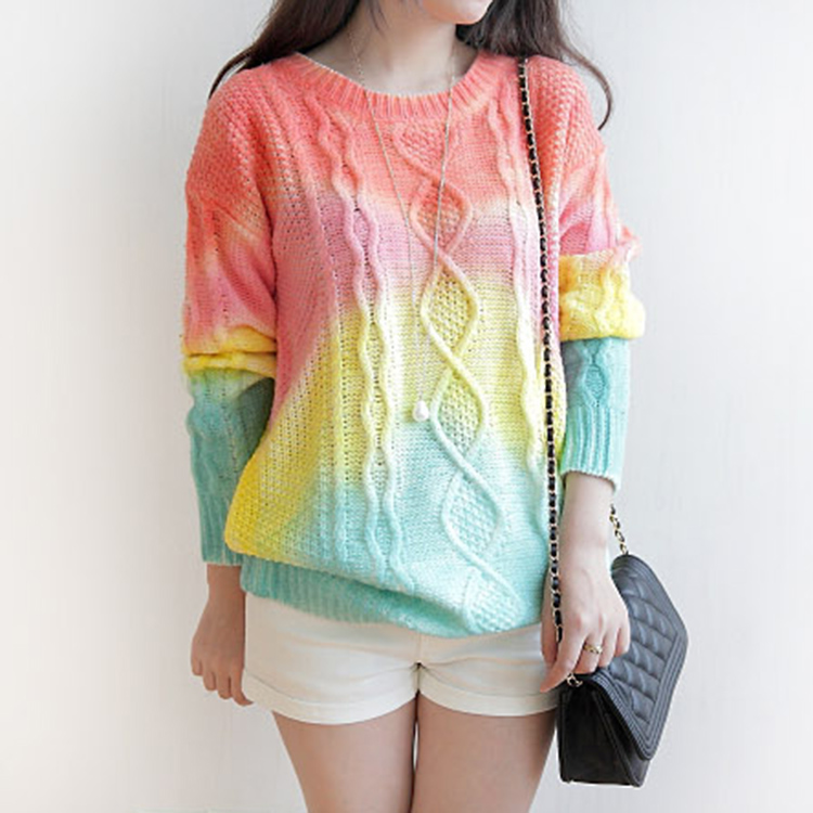 tie dye sweater photo - 1