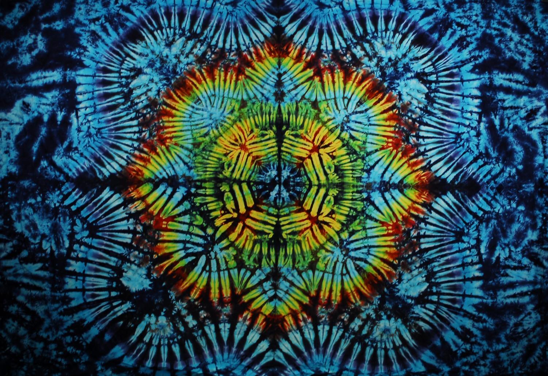 tie dye wall tapestry photo - 1