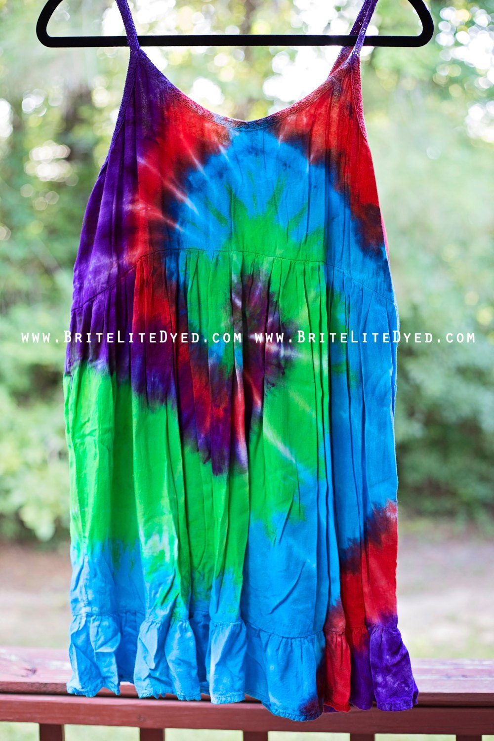 tie dye womens clothing photo - 1
