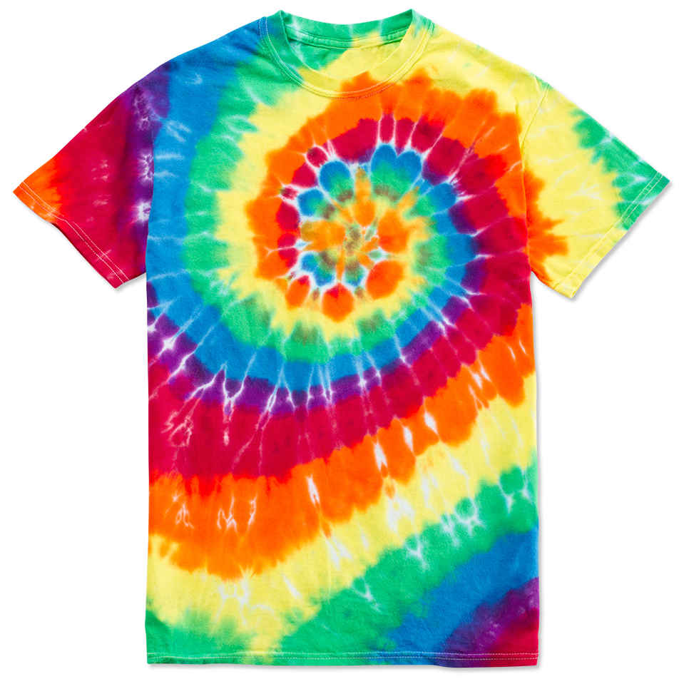 tie dyed shirts photo - 1