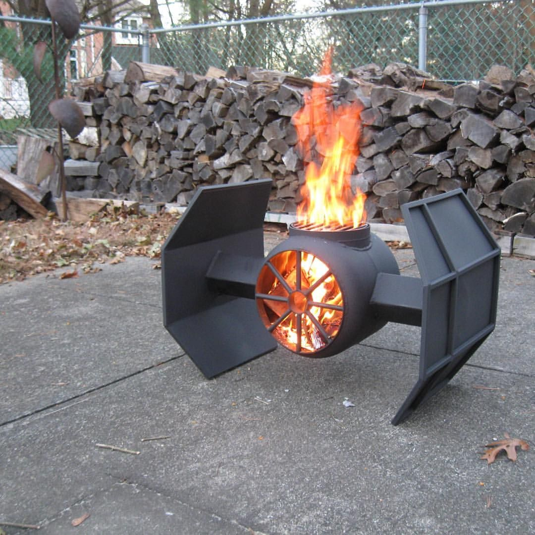 tie fighter fire pit photo - 1