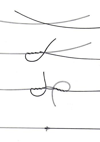 tie fishing line photo - 1