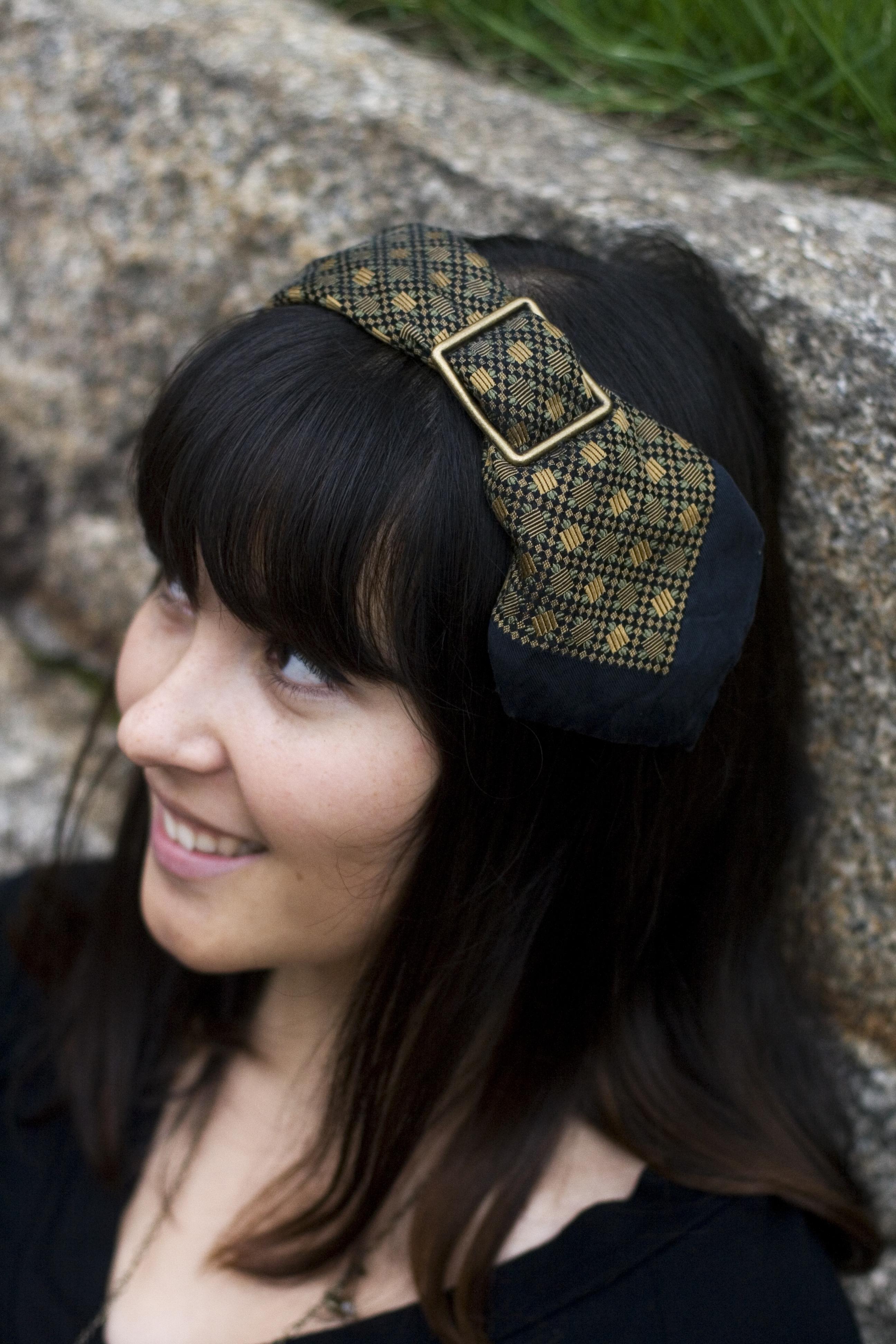 tie headband photo - 1