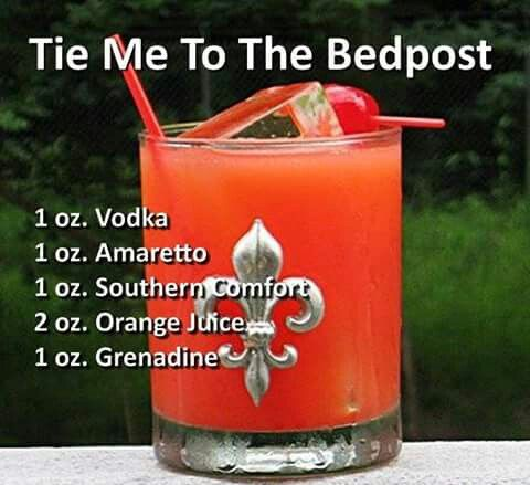 tie me to the bedpost drink photo - 1