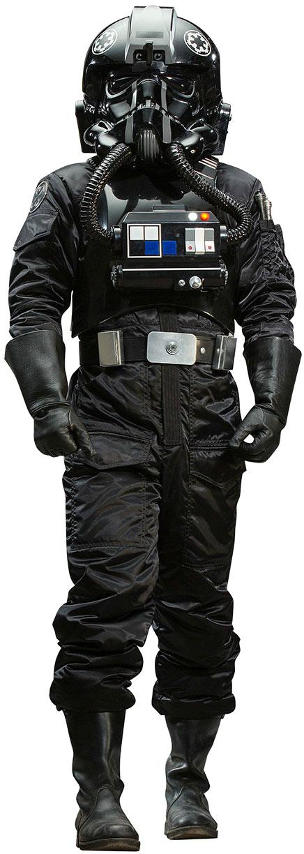 tie pilot costume photo - 1