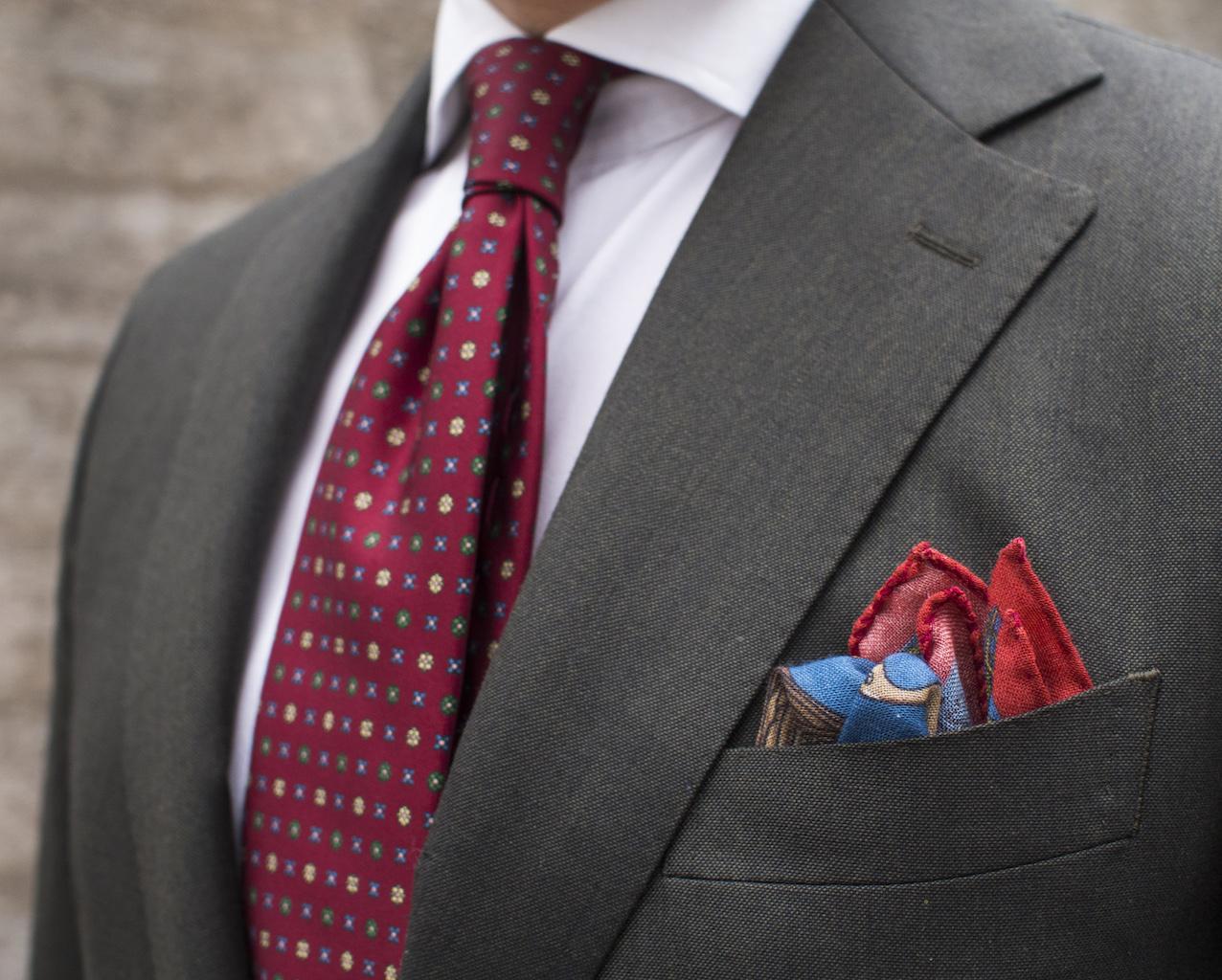 tie pocket square photo - 1