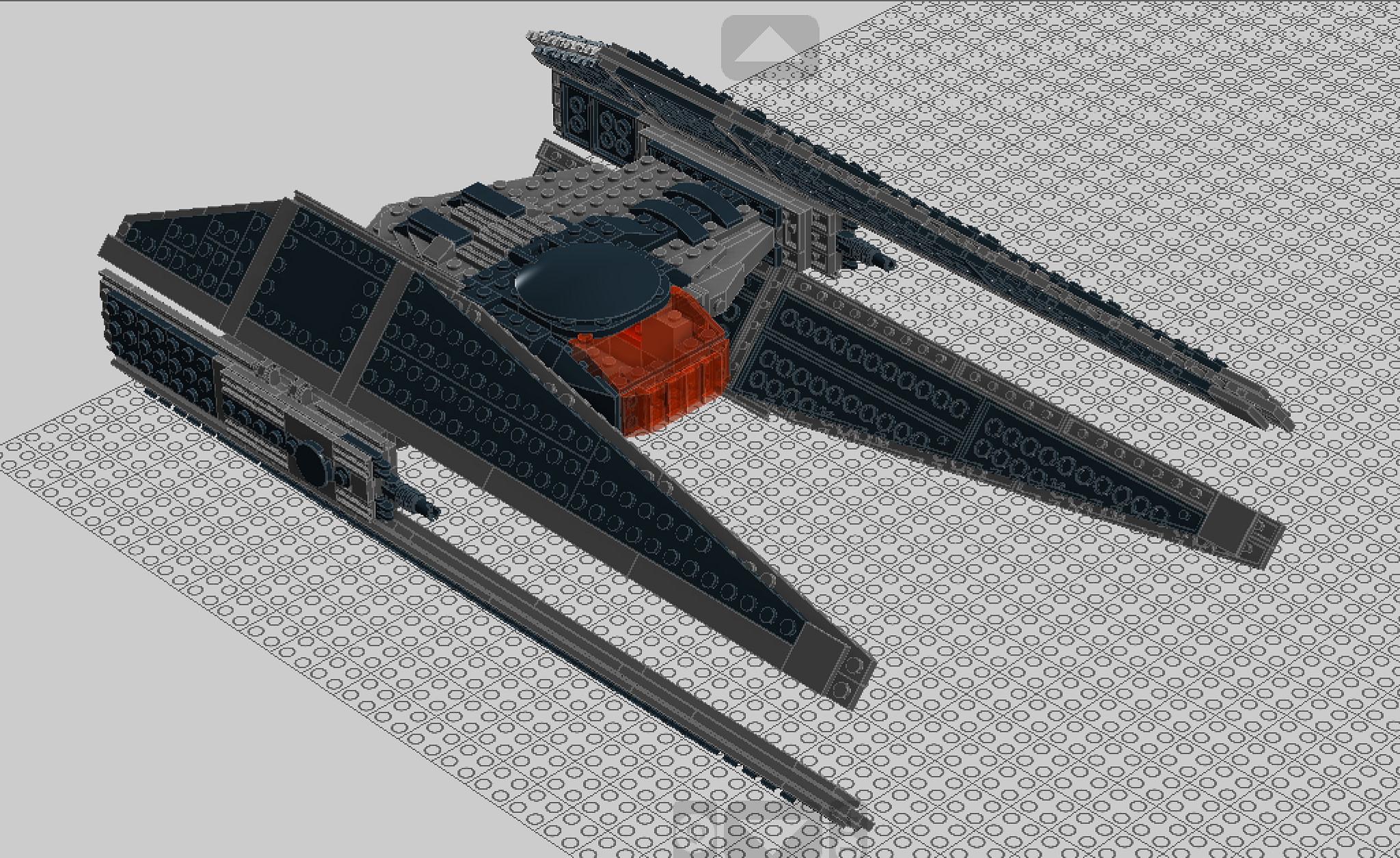 tie silencer lego photo - 1