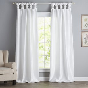 tie top curtains photo - 1
