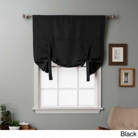 tie up blackout curtains photo - 1