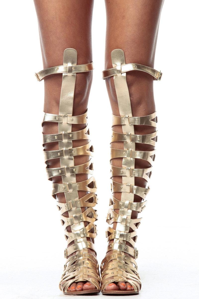 tie up gladiator sandals photo - 1