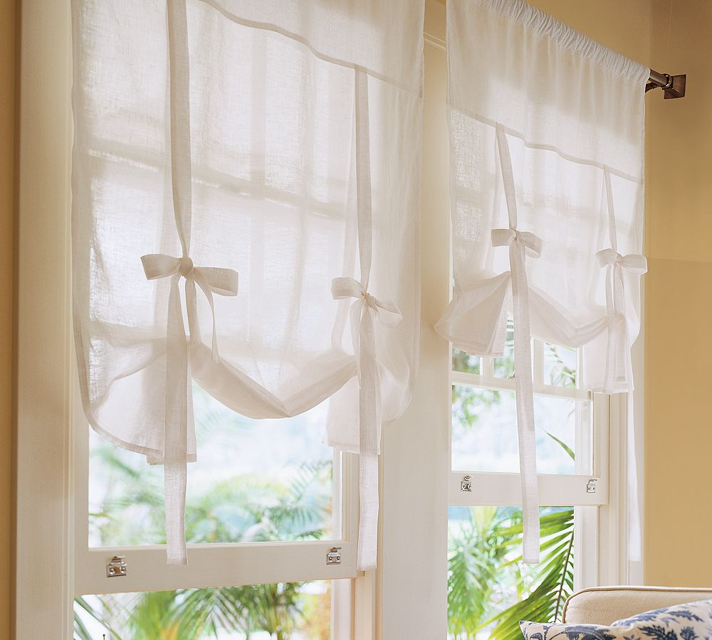 tie up window shades photo - 1