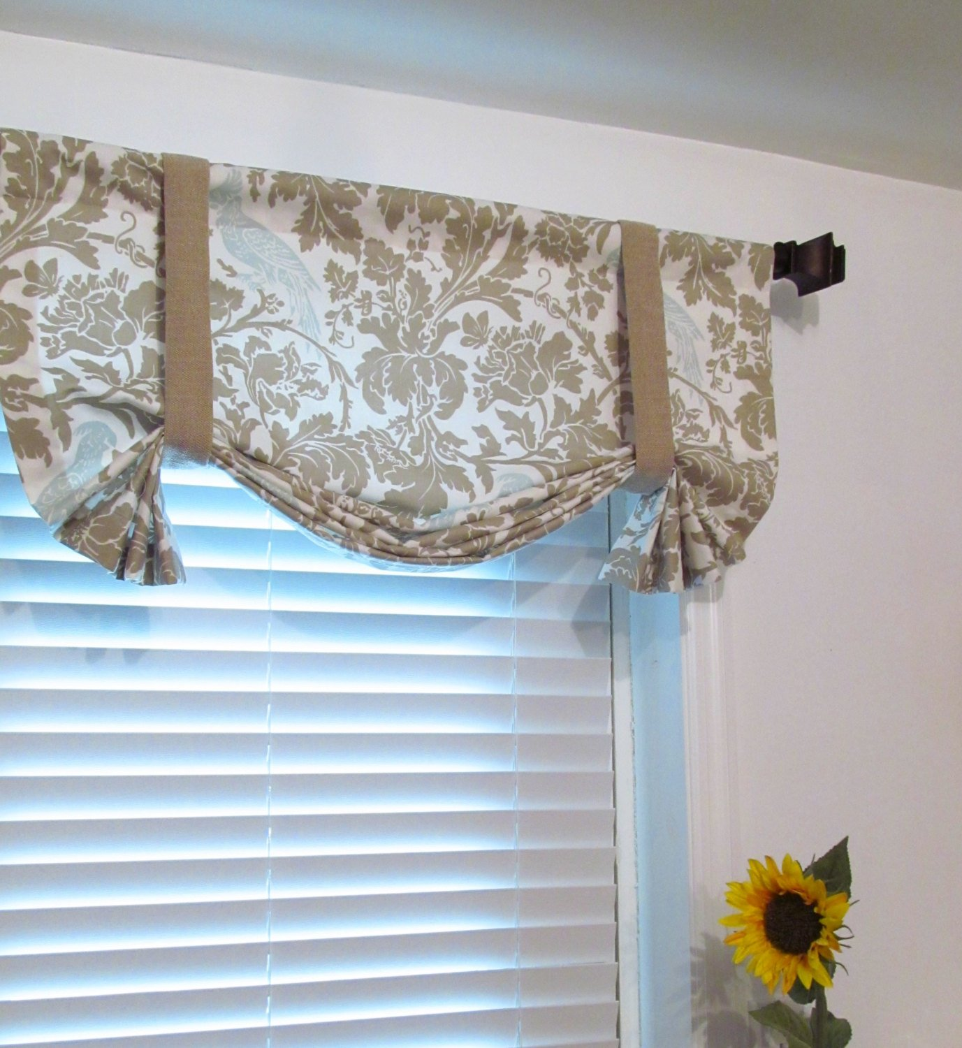 tie up window valance photo - 1