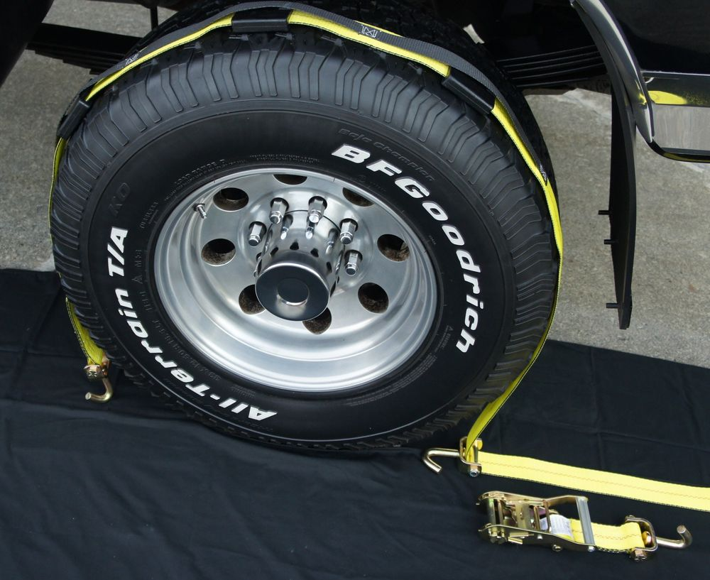tire tie down straps photo - 1
