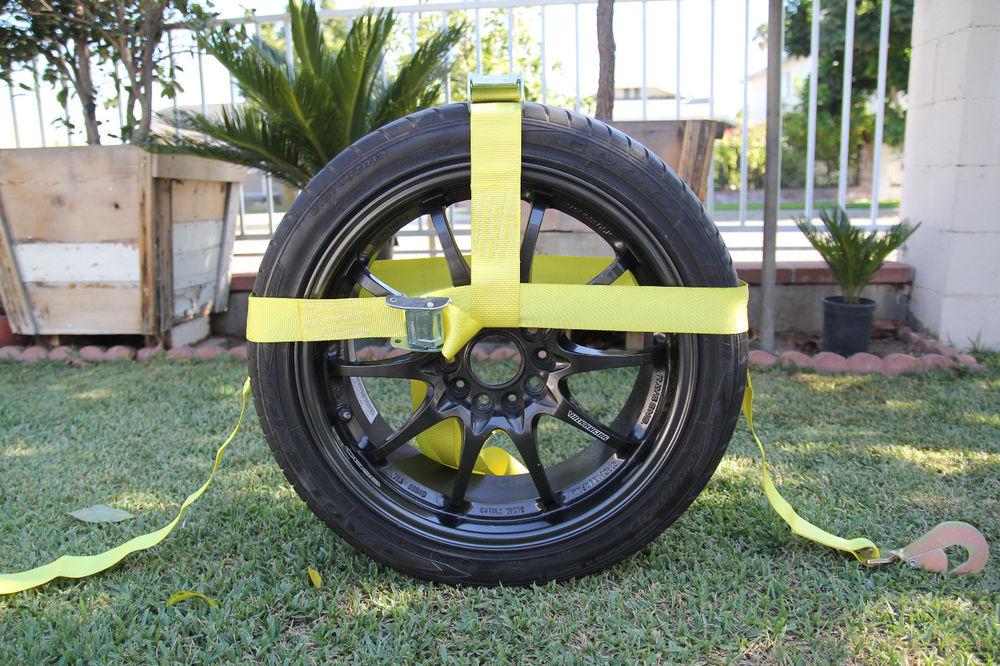 tire tie downs photo - 1