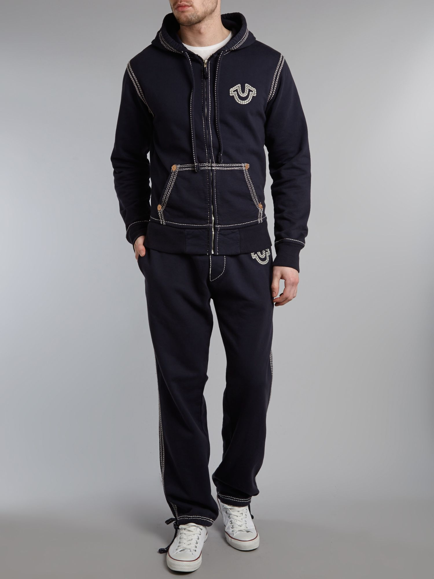 true religion sweat suit men photo - 1