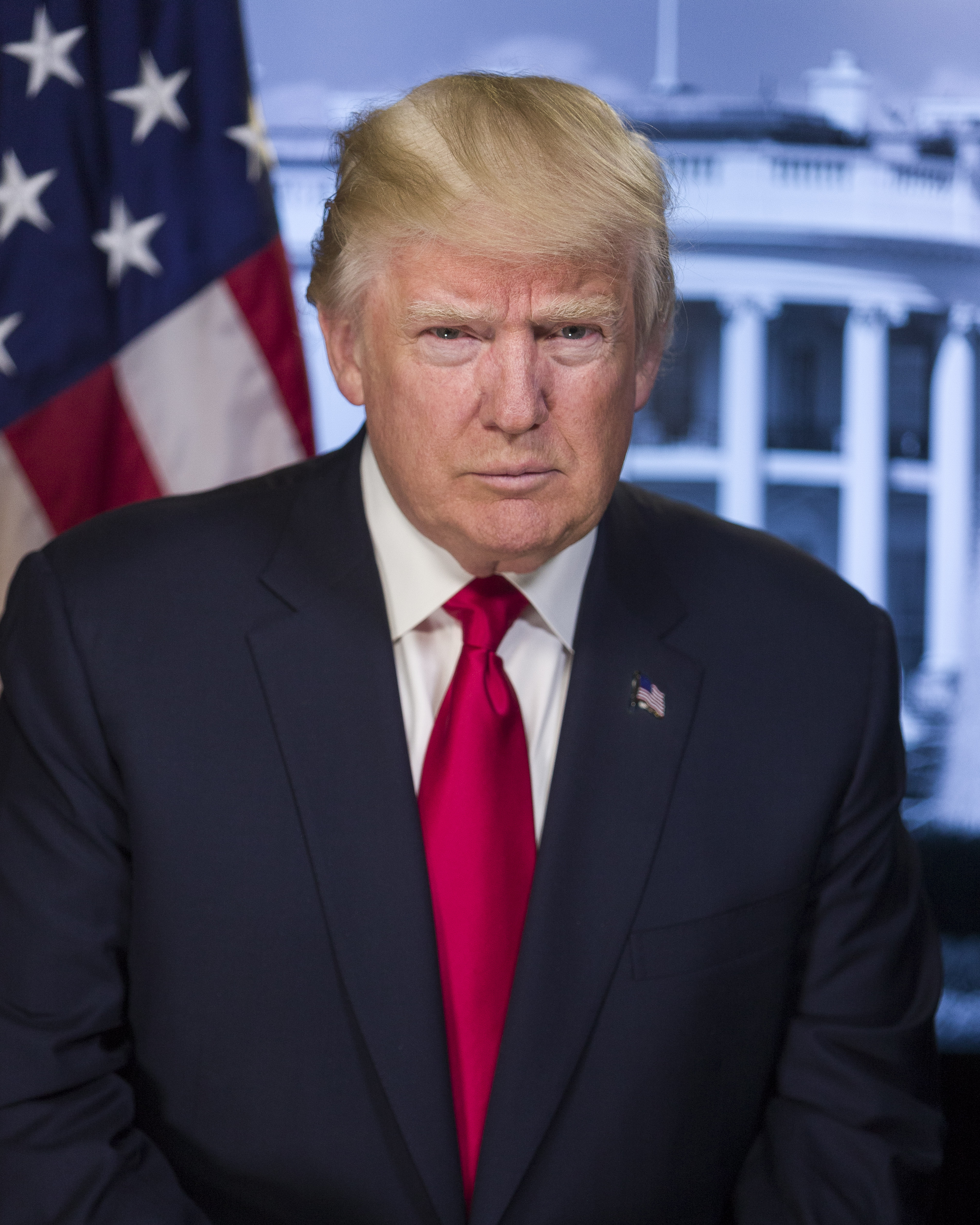 trump red tie photo - 1