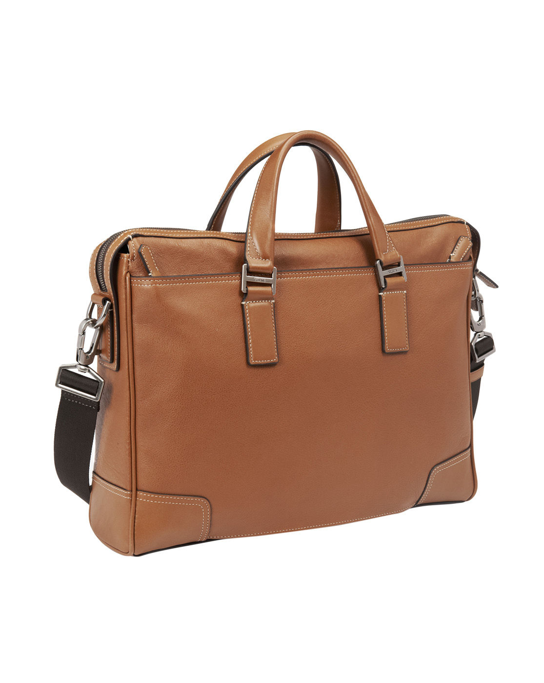 tumi leather briefcase photo - 1