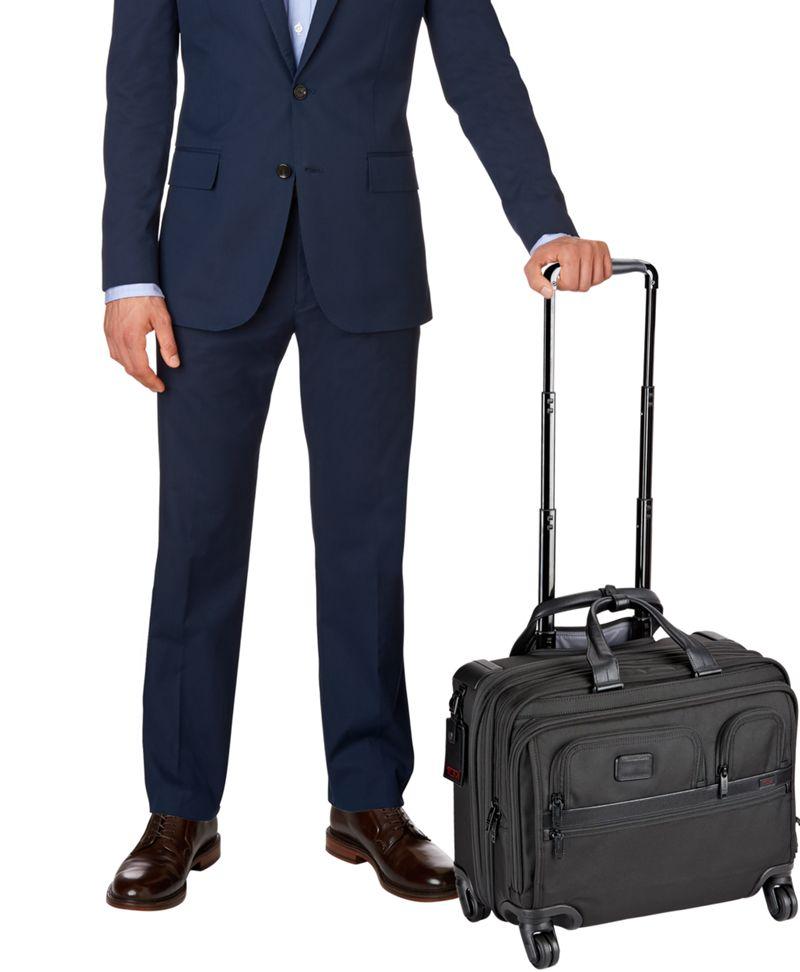 tumi wheeled briefcase photo - 1