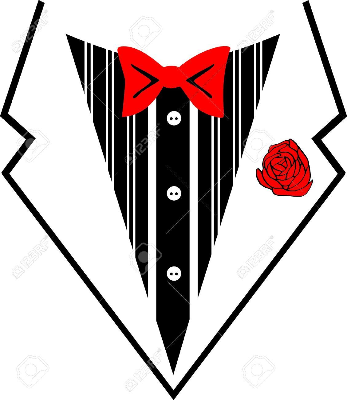 tuxedo bow tie photo - 1