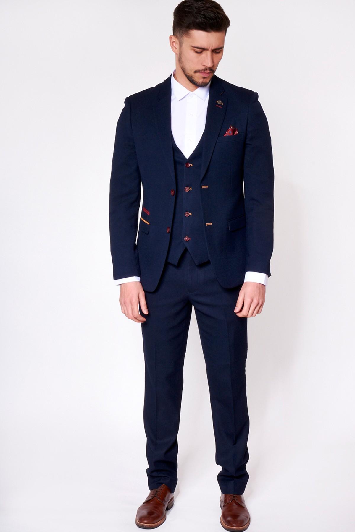 tweed suit men photo - 1
