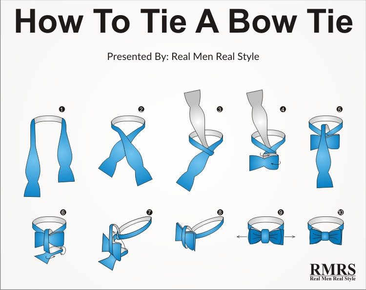 tying a bow tie photo - 1
