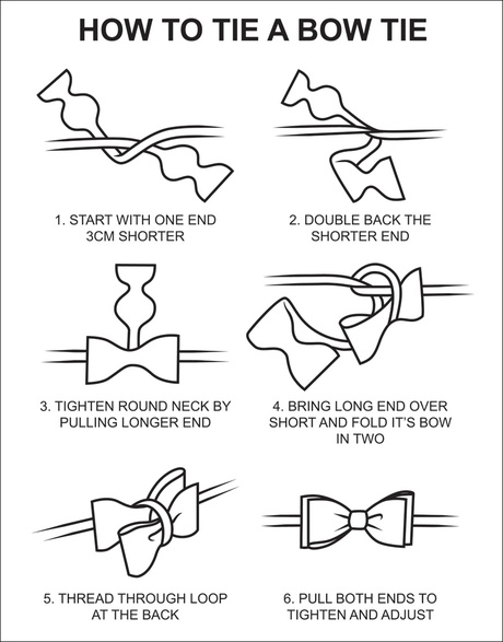 tying a bow tie for dummies photo - 1