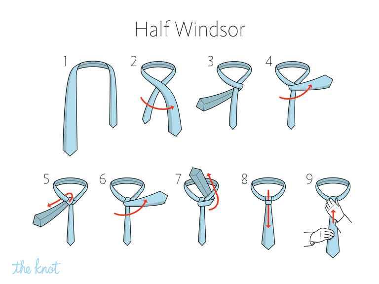 tying a tie photo - 1