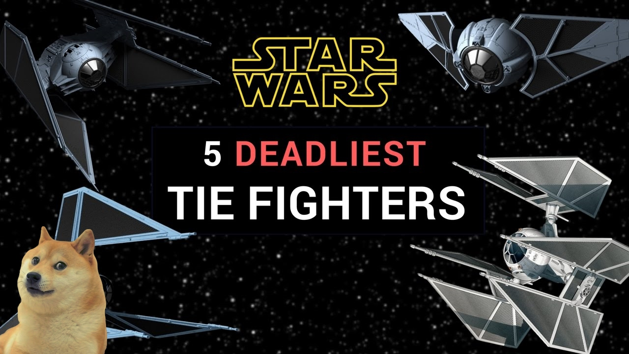 types of tie fighters photo - 1