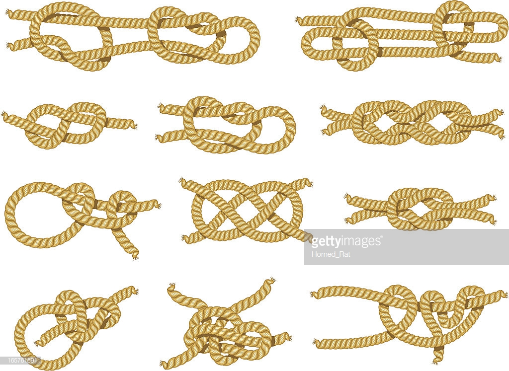 types of tie knots photo - 1