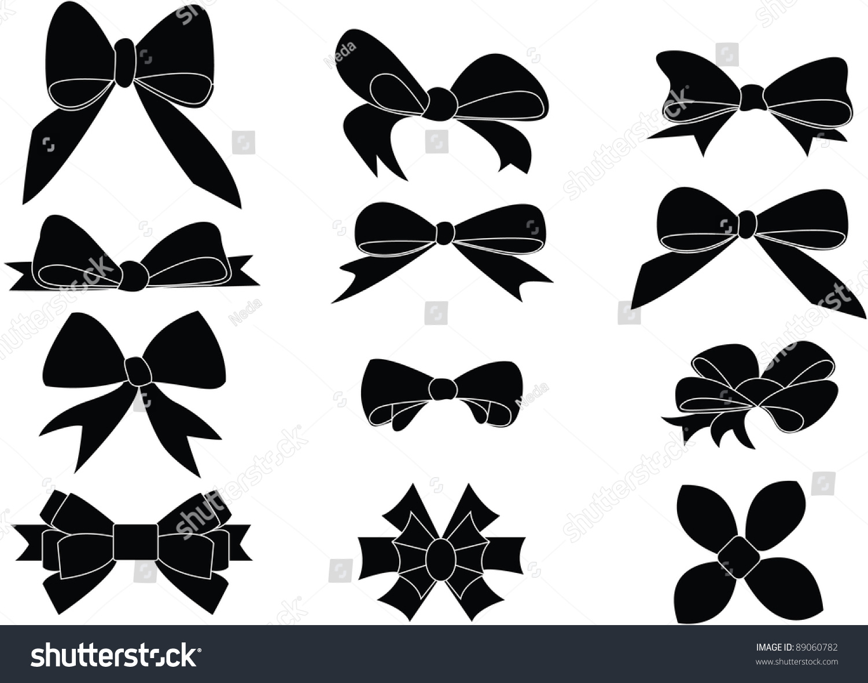 vector bow tie photo - 1