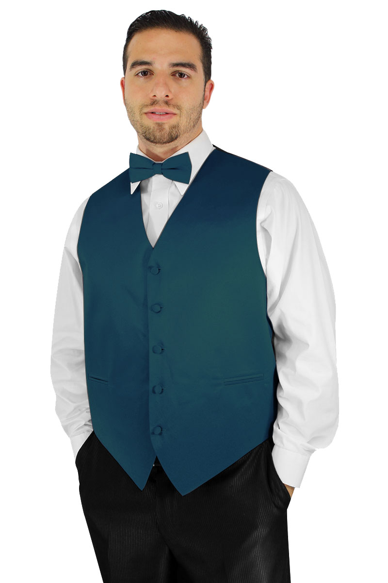 vest and bow tie set photo - 1