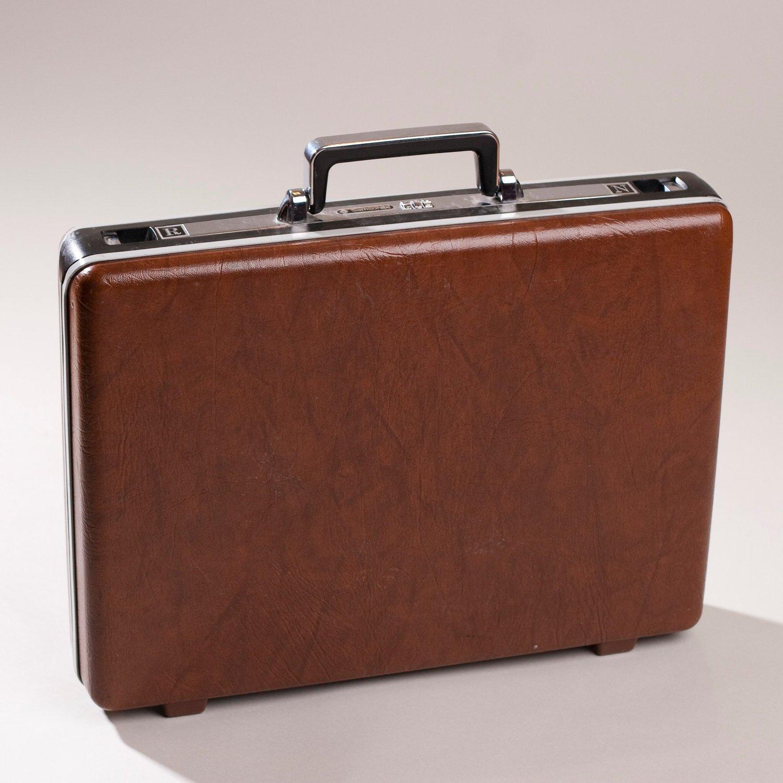 vintage briefcase photo - 1
