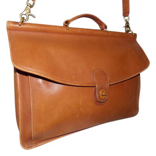 vintage coach briefcase photo - 1