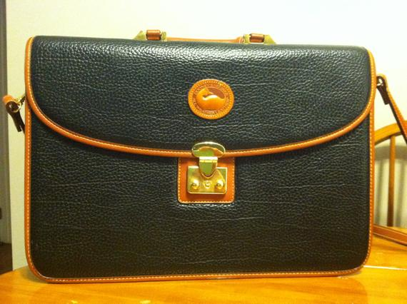 vintage dooney and bourke briefcase photo - 1
