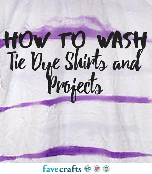 washing tie dye shirts photo - 1