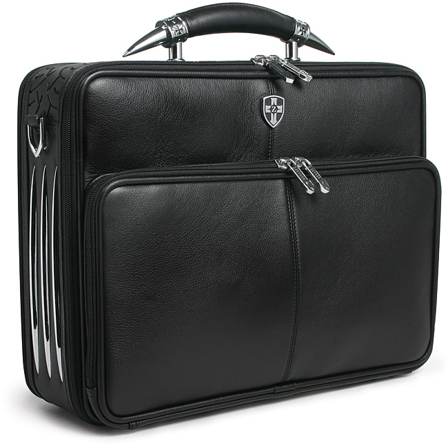 western leather briefcase photo - 1