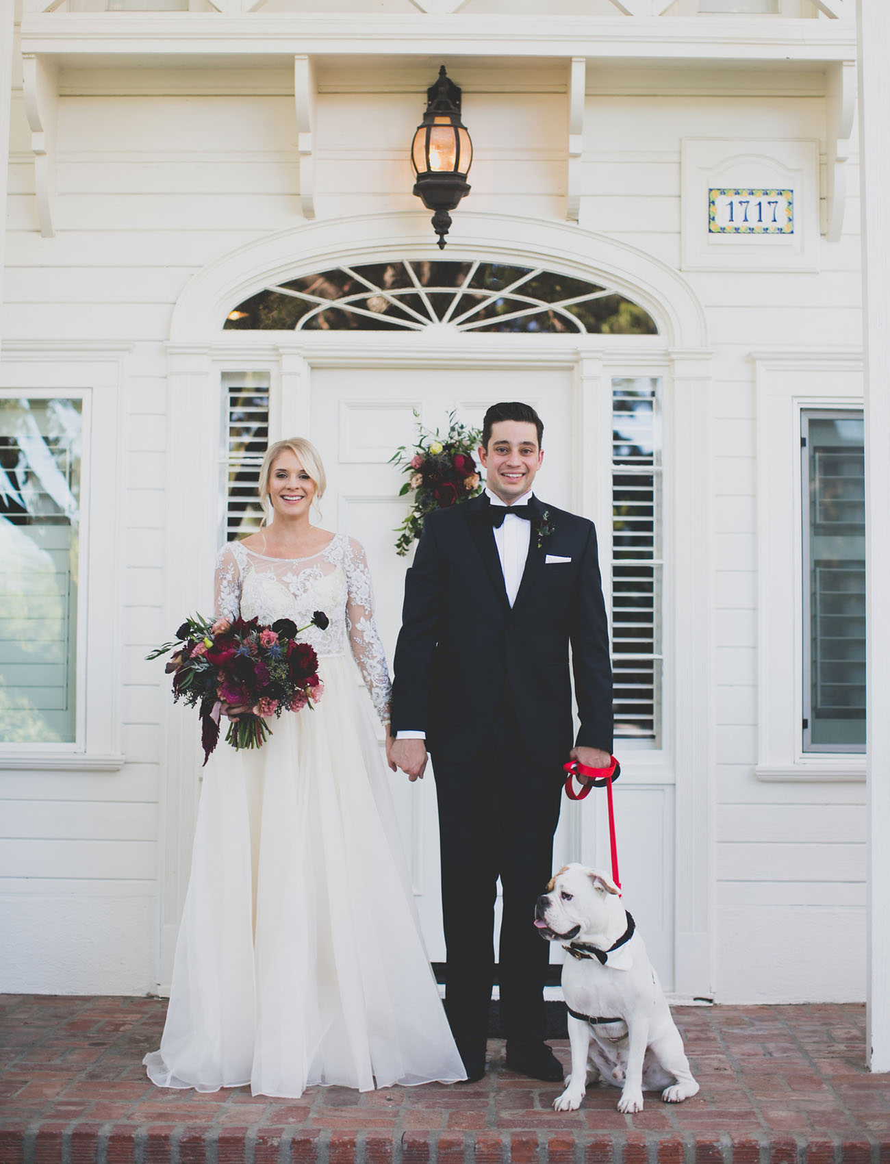 what is a black tie wedding photo - 1