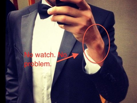 what to wear to a black tie event if you dont have a tux photo - 1