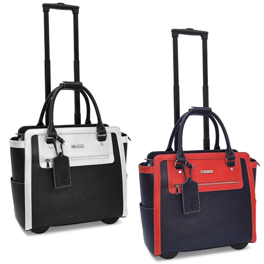wheeled briefcase womens photo - 1
